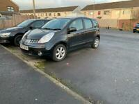 FOR SALE NISSAN NOTE 2008. 1.4 PETROL