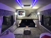 CAMPERVAN - AMAZING SHINY LITTLE TARDIS LIKE CAMPER SUPER ECONOMICAL, EASY TO DRIVE, FULL SERVICE