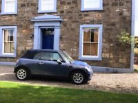 Mini Cooper Convertible, only 61000 miles