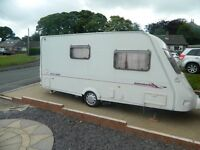 fleetwood colchester 2EB 2003 with motor mover full awning porch awning 3 new tyres ready to go