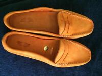 Real leather shoes size uk6
