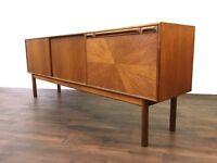 Stunning Mid Century Teak McIntosh Sideboard Retro Vintage Sunburst Dresser Storage