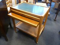 Refurbished trolley with two tables - CHARITY