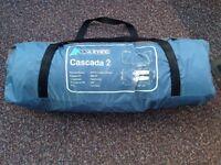 Aztec Cascada 2 man person tent blue grey mint condition