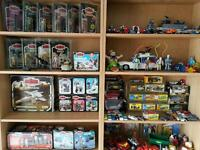 Star Wars, Transformers, Corgi, lego, Action Man, My little pony, polly pocket, dinky, Mego wanted
