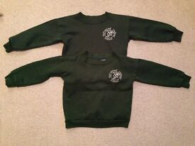 Toftwood infant school jumpers x2 5-6yrs.