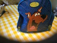 Scooby Doo backpack.Great design.Two side pockets