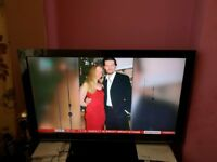 40 Inches Blue Diamond TV with universal working remote control