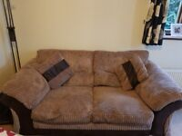 Large 2 seater sofa excellent cond £50