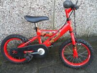 """Childs bicycle 14"""" wheels"""