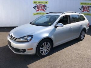 2011 Volkswagen Golf Wagon Comfortline, Automatic, Pan Sunroof,