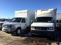 2007 Ford E350 E-350 Super Duty 16Ft Cube Van, Diesel!!