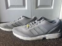 fe9b36b4e Adidas ZX Flux Torsion men s trainers in grey UK 11