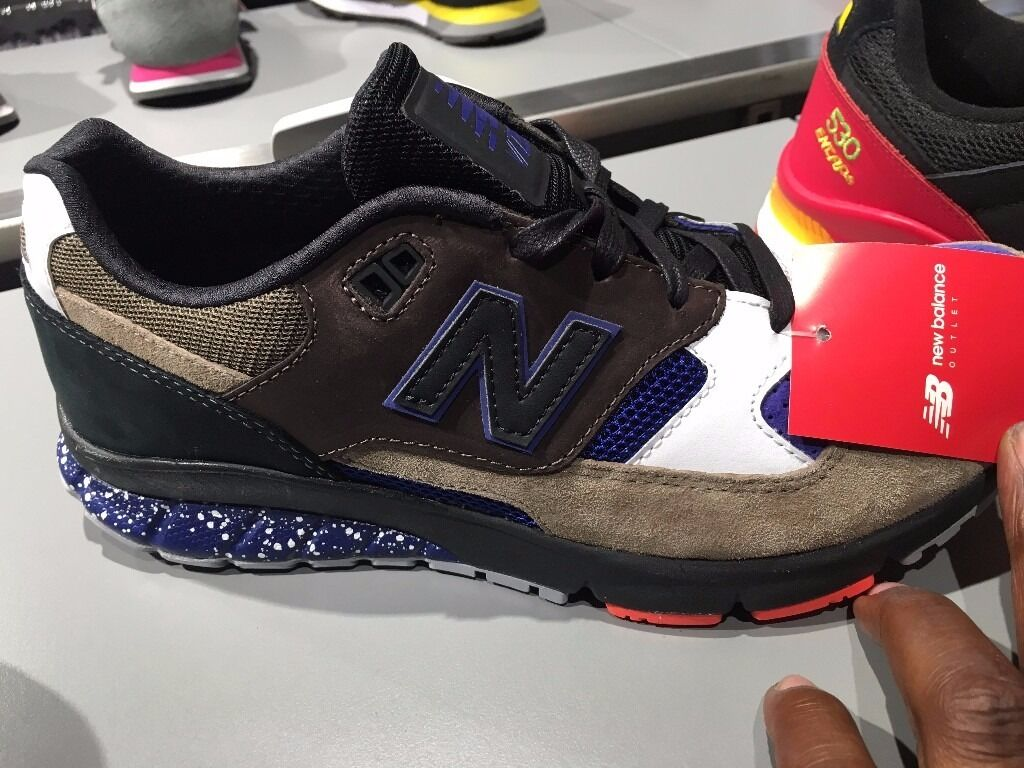 "NEW BALANCE TRAINER ""MULTI"" AUTHENTIC DEADSTOCK"