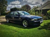 BMW E38 740i 2000 with Xenon and heated seats
