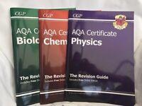 AQA GCSE Science revision guide bundle - CGP