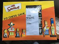 The Simpsons 3D Chess Game