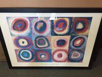 Wassily Kandinsky Farbstudie painting