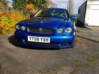 2008 jaguar x type 2.2d sport blue