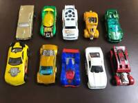 10 x hot wheels cars