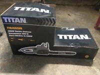 BRAND NEW BOXED TITAN TTB355CHN 40.5CM 2000W ELECTRIC CHAINSAW 230V