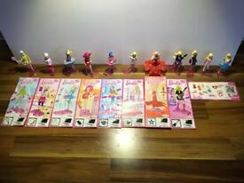 Kinder Surprise Barbie I Can Be Complete Set of 8 Dolls plus 3 Fashion Dolls