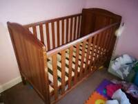 Wooden Cot from Toys r us