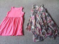 8-9 years 4 item bundle dresses