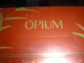 Opium YSL boxed Talc. New