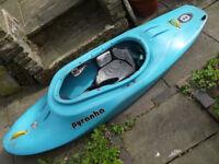 Pyranha Sub Seven Zero kayak / playboat / surfer. Size M-L