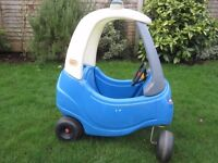 LITTLE TIKES COZY COUPE POLICE CAR - £15 ono