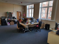 Central Leeds modern office 6 months share/short let or 3 year sublet