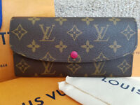 Louis Vuitton Emilie Purse / Wallet Red