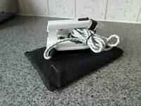 Travel iron never used works aok