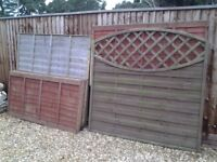 FREE FENCING PANELS & CONCRETE POST