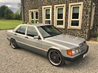 Mercedes 190E 2.0, Classic, retro, cruiser. px or swap for X5 or motorbike