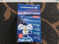 Campingaz micro bleuet stove burner gas cooker new camping hiking