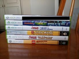LEGO Indiana Jones Star Wars Teenage Mutant Ninja Turtles Adveture Time The Secret XBOX 360 GAMES