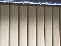 Immaculate Vertical Blind for Patio Door (warm cream)