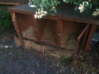 Rabbit hutch for sale. Medium.
