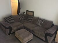 Corner Sofa & Pull Out Bed
