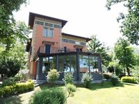 Liberty Villa near Parma, Italy with 5000 sq. Metres of gardens.