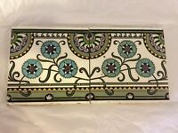 Pair of rare Christopher Dresser tiles by Minton