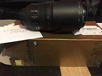 Nikon Nikkor AFS VR Zoom 70-300mm f4.5 - 5.6 G IF ED lens