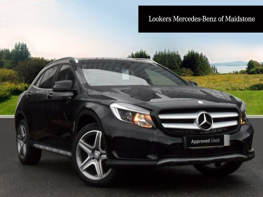 mercedes benz gla class gla 200 d amg line black 2016 12 06 in maidstone kent gumtree. Black Bedroom Furniture Sets. Home Design Ideas