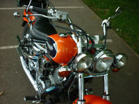 Classic Yamaha Dragstar XVS 650 Cruiser Dragster A2 Sportster