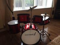 Junior drum kit great condition