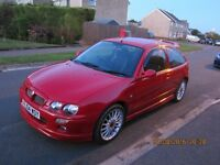 MG ZR 1.4l, 2004, 7 months MOT, good condition