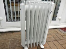 OIL FILLED MOVEABLE RADIATOR