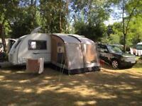Kampa Rally 260 Caravan Porch Awning